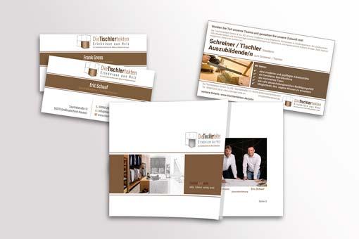 Design und Gestaltung für die Tischlertekten