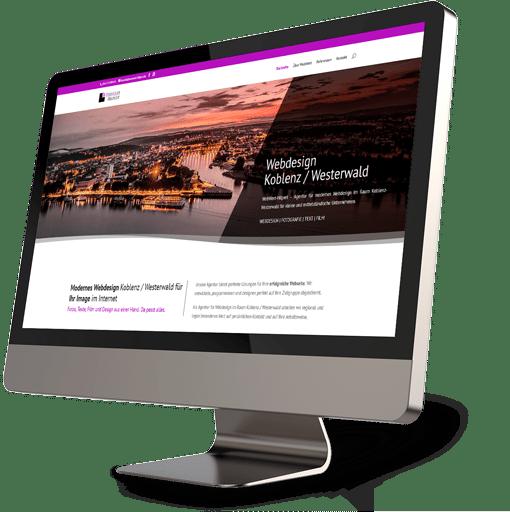 Webdesign Koblenz / Westerwald gestaltet mit WebWert Britta Hilpert.